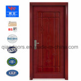 2018 puerta de madera ignífuga /fuego de madera maciza puerta con puerta cortafuego certificada UL