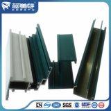 Profil en aluminium d'enduit coloré lumineux de la poudre 6063 pour la décoration