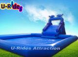 O Parque Aquático inflável de tamanho médio para o Verão