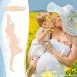 Отпуска по беременности и ремень удобные для живота беременности на один размер, обнаженная