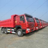 판매를 위한 371HP/Sinotruk HOWO 20cbm 덤프 트럭 팁 주는 사람 트럭