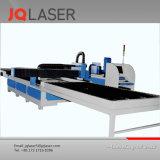 Machine de découpage personnalisée de laser de fibre en métal des modèles Jq1530 1500W de sorties d'usine