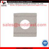 La norme DIN 434 Wedge-Shaped rondelle carrée en acier inoxydable pour U Section