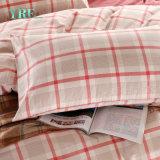 Rosafarbenes Wohnungs-Garn gefärbte Förderung-Baumwolltröster-Bettwäsche
