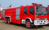 Isuzu 6X4 8000 L 물 2000 L 거품은 유조선 소방차 트럭을 진화한다