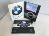 """工場習慣7 """" LCDプレーヤービジネスマーケティングのビデオパンフレットのカード"""