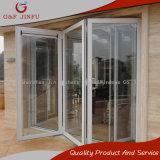 Portello scorrevole di vetro Bi-Piegante del portello dell'alluminio per residenziale e l'hotel