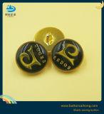 衣服のための金属のエナメルの金のシャンク・ボタン