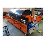 2m, 3m, 4m, machine de soudure par fusion de bout de pipe de feuille de plastique de 5m