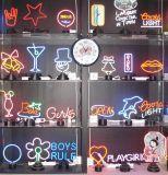 2017 lampade al neon variopinte personalizzate popolari americane del segno di pace
