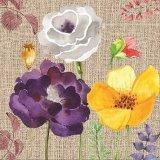 Vente chaude Fleur de l'huile de la conception de la peinture pour mur Arts