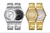 Высокое качество ультратонкие кварцевые часы женщина элегантная платья дам смотреть