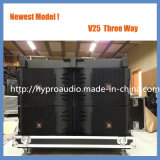 El modelo nuevo V25 se dobla línea altavoz del arsenal, altavoz de gran alcance de 15 pulgadas