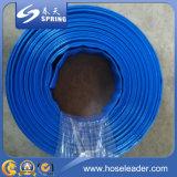 Boyau de débit de l'eau de PVC Layflat pour l'irrigation et les pompes à eau