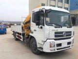 La vendita calda 4*2 Rhd 6 tonnellate della gru di camion di caricamento ha montato con la gru