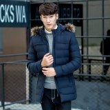 Оптовая торговля долго стиле зимнего стеганая мужчин Куртки для Outerwear