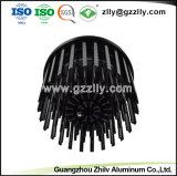 مصنع صنع وفقا لطلب الزّبون [دي كستينغ] سوداء ألومنيوم [هتسنك] مع [إيس9001]