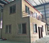 Chambre préfabriquée intense de bâti en acier de deux étages avec les laines de verre