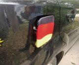 Soocerのファン車の窓のフラグカバーエンジンの車輪のガス帽子のフラグカバー