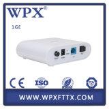 Módem portuario de FTTX Gepon ONU 1ge para el asunto de la ISP