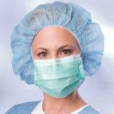 Il maschio frega la protezione chirurgica non tessuta del tessuto rotondo di Radition che fa la macchina