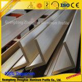 China proveedor extrusiones de aluminio personalizado el ángulo de Aluminio