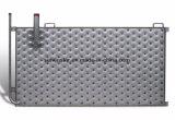 Plaque inoxidable gravée en relief de modèle pour la plaque de vente chaude de submersion de soudure laser D'échange thermique
