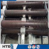 Ahorrador del tubo aletado del espiral del cambiador de calor de la caldera con eficacia alta