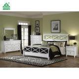 아이들을%s 주문을 받아서 만들어지는 백색 단단한 나무로 되는 호텔 침실 가구 세트