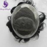 Toupee del sistema dei capelli umani per gli uomini