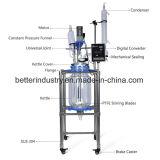 L'extraction de fermentation chemisé réacteur de verre