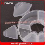 플라스틱 6 케이스 환약 상자 (KL-9098)