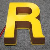 Mot lumineux de logo de mini mot acrylique