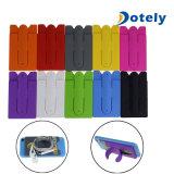 Telefone celular de silicone bofetada Stand com bolso