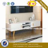Metal Leg Decorative Pine Wood Coffee Table (HX-8NR0960)