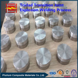Junção criogênica de aço Alumínio-Inoxidável da transição da fábrica de China para o cambista de calor