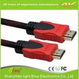 Preiswertes 4K 2.0 1.4 Kabel 1m der Vergoldung-HDMI