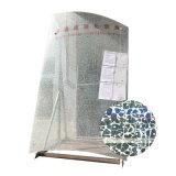 Edificio de seguridad templado plana de cristal transparente templado de impresión
