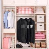 3パック42インチ靴のポケットが付いている非編まれた旅行スーツのコートの衣服の布カバー袋