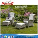 デザインソファーの一定の藤のMaryardの屋外の部門別の藤の/Wickerの最新のソファーの一定の家具