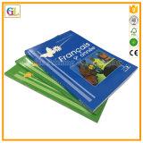 Stampa educativa del libro dei bambini di colore completo del coperchio molle