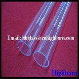 Tubo de cristal libre de cuarzo de la silicona fundida del ozono caliente de la venta