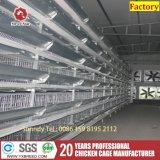 판매를 위한 잠비아 H 유형 최신 직류 전기를 통한 철사 그물세공 닭 층 감금소