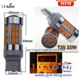 Automobile luminosa LED di nuovo arrivo 1156 22W 105SMD 2000lm che gira lampadina