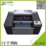 Pequenas gravura a laser de CO2 e máquina de corte ES-5030