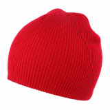 Los cabritos del bebé de los niños hicieron punto la gorrita tejida caliente del casquillo sólido del cráneo del sombrero (HW631)