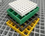 Reja moldeada GRP de la fibra de vidrio FRP con la superficie cerrada fuertemente
