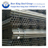 Sezione rotonda nera della l$signora tubo d'acciaio del carbonio dell'acqua & della costruzione ERW fatta in Cina
