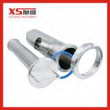 25.4mm eckiges Filter-Grobfilter der gesundheitlichen Schelle-Ss304 mit perforiertem Platten-Bildschirm