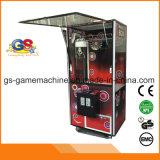 Machine en bois de jeu de machine d'amusement de grue de jouet à jetons de l'arcade DIY
